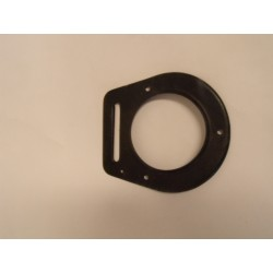 Piper- Flange Air vent - black