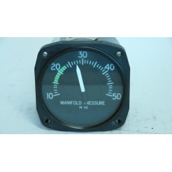 Manifold Pressure 10-50 IN. HG. ABS.