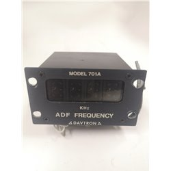 Davtron ADF Frequency Indicator MODEL 701A